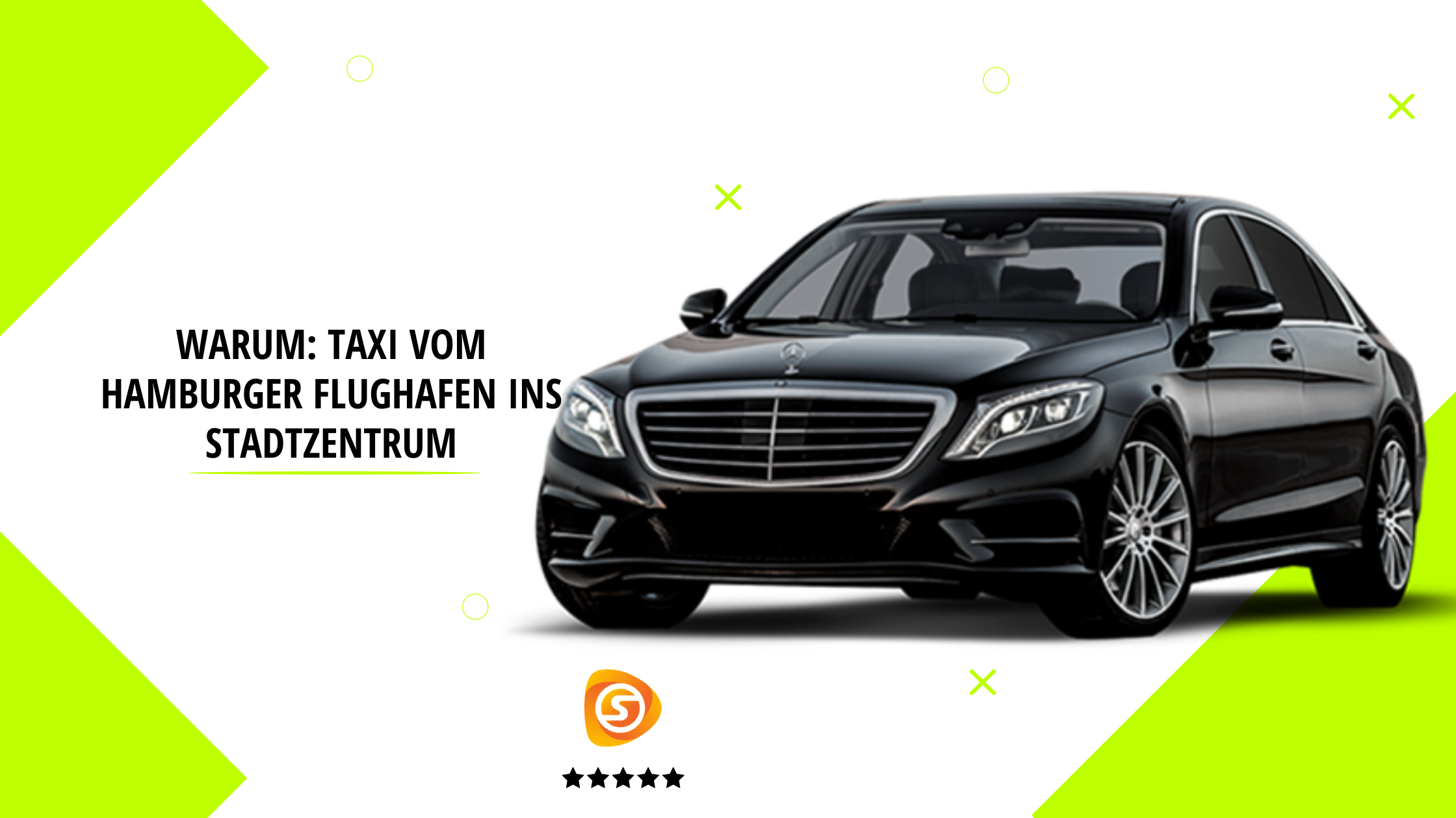Why: Taxi from Hamburg Airport to City Centre